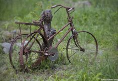 An old and beautifully decayed Japanese bike — Tokyo Times