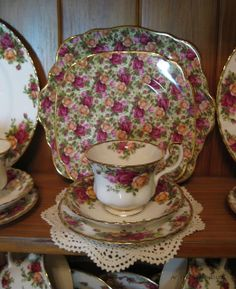 129 Best Old Country Roses China Images Royal Albert