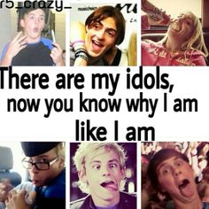 but I've always been like that way even before they were a band......  I guess that means I was meant to be a part of the #R5FAMILY ☺☺☺☺