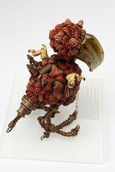 as dead as a steampunk dodo | design: #michihiro #matsuo