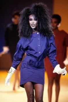 career as a fashion photographer. Thousands pics. Iman Model, Supermodel Iman, Thierry Mugler, Iman Bowie, Yves Saint Laurent, 80s And 90s Fashion, Fashion 2020, Women Of Rock, Grace Jones