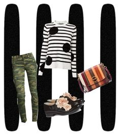"""Pattern Chic contest"" by xxmrs-wolfxx on Polyvore featuring True Religion, L.K.Bennett, Pokemaoke and Tory Burch"