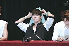 161001 #인피니트 Hoya - INFINITE ONLY 6th Mini Album Fansign in Busan