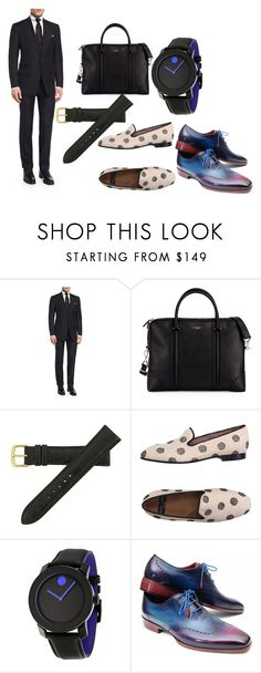 """""""Men's Chic"""" by demijay on Polyvore featuring Tom Ford, Givenchy, Hadley-Roma, Movado, women's clothing, women, female, woman, misses and juniors"""