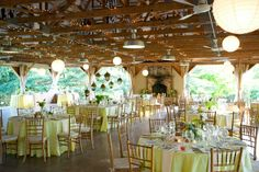 Finding a space that has elements you enjoy is the first step in executing your wedding theme.