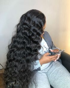 Julia Hair Mall provides virgin human hair weave,human virgin hair bundles,lace closure and 360 lace frontal,all kinds of human hair extensions and lace wigs for your choice. Curly Hair With Bangs, Curly Hair Styles, Natural Hair Styles, Curly Afro, Loose Hairstyles, Black Girls Hairstyles, Prom Hairstyles, Shakira Hairstyles, Straight Hairstyles