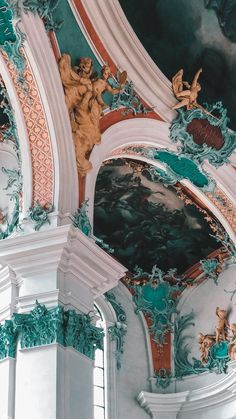 Architecture Wallpaper, Baroque Architecture, Beautiful Architecture, Building Architecture, Travel Aesthetic, Blue Aesthetic, Aesthetic Pastel Wallpaper, Aesthetic Wallpapers, Cute Wallpapers