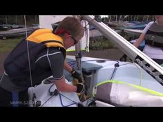 How to sail - How to Rig a Sailing Boat - YouTube