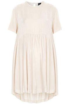 Velvet Babydoll Dress by Boutique - Dresses  - Clothing