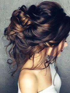 Half-updo, Braids, Chongos Updo Wedding Hairstyles /