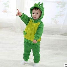 34.65$  Watch here - http://aivy6.worlditems.win/all/product.php?id=32429998899 - Clothing for babies Crocodile Cartoon Lovely Spring Autumn Suits for Infant boy clothing clothes baby 1-3 years old