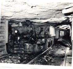 West Virginia Coal Mines 1940s   Inside Coalwood Mine