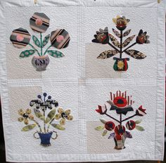 One of a series of quilts I made for a great friend. The quilts were for her kids, made from their Dad's ties.