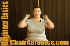 Beginner Basics from the Chair Aerobics for Everyone series