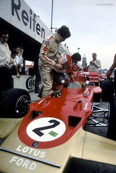 Jochen Rindt, Hockenhiemring