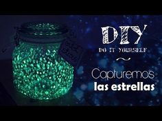 DIY | Bote con estrellas ♥ Fireflies Jar Light - DissendiumDIY