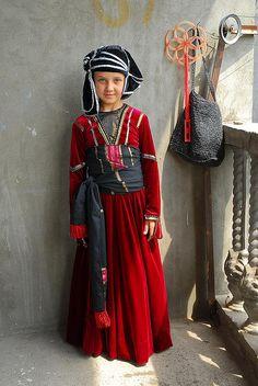 Inga in Georgian traditional costume | Flickr - Photo Sharing!