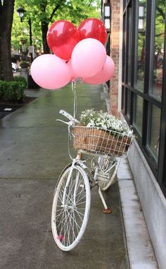 Valentine balloon bike  #shopfesta