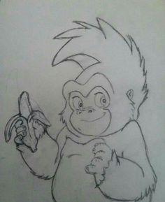 Terk From Tarzan Drawing