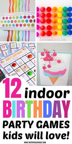 12 Indoor Birthday Party Games Kids Will Love Here are 12 BEST indoor birthday party games that are perfect for winter birthdays. These best indoor winter birthday party games are a guaranteed way to entertain your kiddo and his little friends. Birthday Party Games Indoor, Toddler Party Games, Birthday Party Games For Kids, Winter Birthday Parties, Birthday Activities, Birthday Fun, Birthday Ideas, Football Birthday, Kids Party Games Indoor