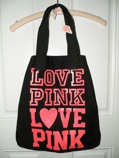 FREE Tote With Victoria Secret's Pink Purchase | Victoria secret ...