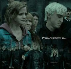 An accurate description on what Draco and Hermione could've been. Dramione 4 life