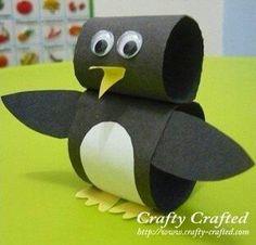 Penguin.  Tp rolls