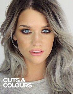 As en grijs haar | Kleuring | Lang haar | CUTS & COLOURS