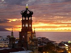 Our Lady of Guadalupe Church .The Official Puerto Vallarta Travel Guide Best Places To Retire, The Places Youll Go, Places To Visit, Paros, Puerto Vallarta Beach, Two Worlds, Our Lady, Vacation Spots, Day Trips