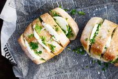 Grillat vitlöksbröd med mozzarella | Catarina Königs matblogg
