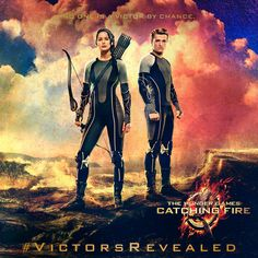 """No one is a victor by chance."" Which victor will join Katniss Everdeen and Peeta Mellark next? Tweet your guess with #VictorsRevealed and visit: http://www.thehungergamesexplorer.com/us/tribute-banner/"