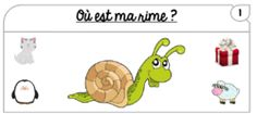 Où est ma rime ? Grande Section, Christen, Teaching Kids, Literacy, Activities, Education, Math, Reading, School