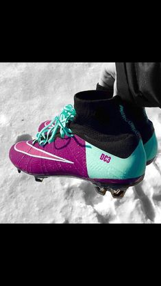 the best attitude ef57c 77fdb Nike   Mercurial   Superfly   Pink and blue   Nike Soccer Cleats, Womens  Soccer