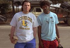 Pulp Fiction – UC Santa Cruz Banana Slugs T-Shirt http://tshirtsonfilm.com/2014/11/pulp-fiction-uc-santa-cruz-banana-slugs-t-shirt/ #PulpFiction #JohnTravolta