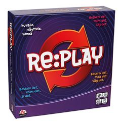 Re:play -pelipakkauksen lokalisointi Suomen markkinoille. Graphic Design, Play, Visual Communication