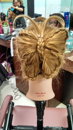 Hair style I did
