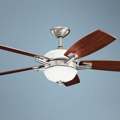 "54"" Kichler Brinbourne Antique Pewter Ceiling Fan -"