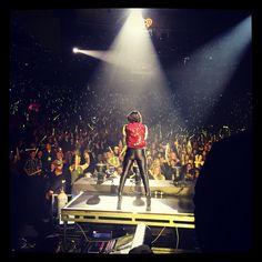 ddlovato's photo on Instagram - ddlovato    #KDWBJingleBall.. Awesome crowd!! ❤️❄️⛄️