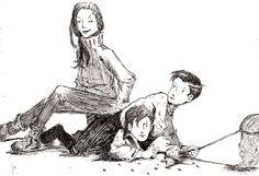 Grace Children by rosenkreuss - The Spiderwick Chronicles