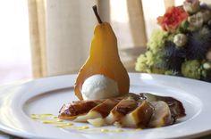 """drunk pear"" with vanilla ice cream - San Crispino Garden Resort and Spa"