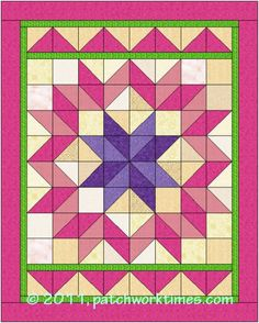 Carpenter's Star on Patchwork Times