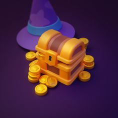 Blender 3d, I Am Game, Game Design, Game Art, 3 D, It Works, Behance, Artwork, Kawaii Stuff
