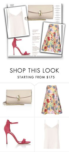 """""""Outfit # 4264"""" by miriam83 ❤ liked on Polyvore featuring Dolce&Gabbana, Valentino, Sergio Rossi, L'Agence, Haute Hippie and Whiteley"""