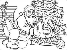Christmas Adult Coloring pages Ninjago Coloring Pages, Coloring Pages To Print, Adult Coloring Pages, Coloring Books, Colouring Pages, Christmas Tree With Gifts, Christmas Colors, Kids Christmas, All Things Christmas
