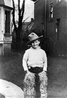 Marlon as a little boy