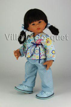 POUPEE ORIGINAL MÜLLER-WICHTEL KARITA - poupée de collection de Rosemarie Müller
