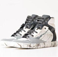 Balenciaga's Marble Sneakers Boasts an Organic Vein Print #luxury trendhunter.com