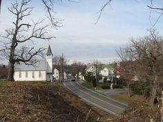 Hedgesville, West Virginia, Street view.