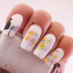 16 Beautiful Bokeh Manicures To Light Up Your Nails