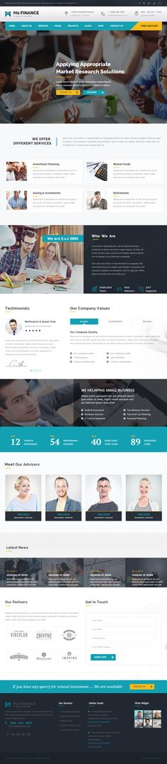 Responsive html5 website templates on pinterest for Free html5 parallax scrolling template